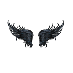 Banner Dark Fairy Wings