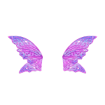 Banner Pink Fairy Wings
