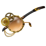 Animated Steampunk Monocle