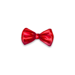 Red Bow Barrette