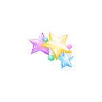 Kawaii Stars Barrette