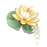 Water Lily Headpiece
