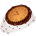 Steampunk Clock Headpiece