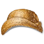 Golden Faux Mink Hat