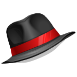 Suave Hat with Red Ribbon