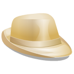 Tan Gentleman's Hat