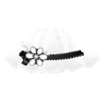 White Elegant Hat