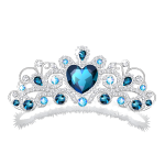 Royal Blue Tiara