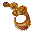 Animated Steampunk Halfmask