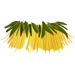 Tropical Hula Skirt1