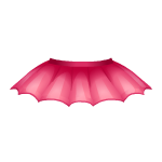 Pink Batty Skirt
