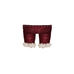 Burgundy Inuit Pants