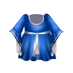 Blue Elven Dress