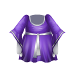 Purple Elven Dress