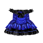 Dark Blue Gothic Dress
