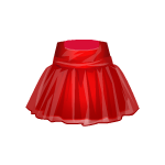 Red Ballerina Style Dress