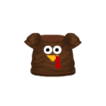 Animated Turkey T-shirt