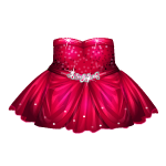 Garnet Angel Dress