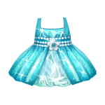 Aquamarine Angel Dress