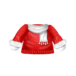 Christmas Sweater with Scarf
