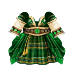 Irish Princess Dress