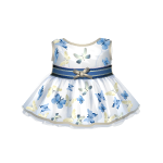 Spring Dress with Butterflies