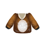 Reindeer Costume Top