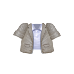 Banner Exclusive Gray Unbuttoned Jacket