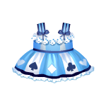 Wonderland Blue Dress
