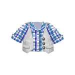 Banner Exclusive Checkered Shirt with Vest