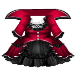 Vampire Countess Red Dress