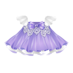 Banner Exclusive Changeable Dress with Bow and Lace