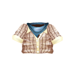 Cowboy Shirt with Scarf