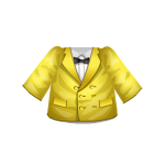 Yellow Jacket with Bow Ensemble