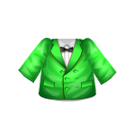 Green Jacket with Bow Ensemble