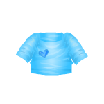 Blue Heart Shirt
