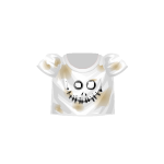T-Shirt with Scary Face
