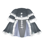 Winter Medieval Gray Dress