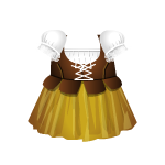 Medieval Tavernkeeper Dress