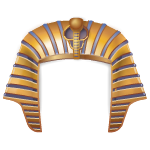 King Tut Head Piece