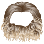 Curly Highlights Two Tone Wig