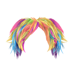 Burst of Colors Wig