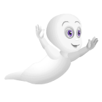 Animated Friendly Ghost