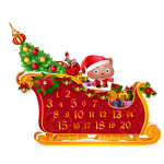 Sleigh Advent Calendar