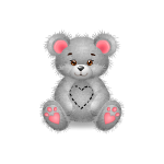 Banner Gems Teddy Bear