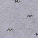 Gloomy White Spiderweb Wallpaper