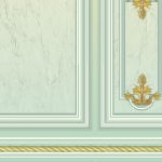 Mint French Aristocrat Wallpaper