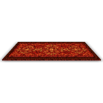 Medieval Red Royal Rug