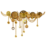 Steampunk Garland
