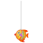 Tropical Fish Paper Hanging 2